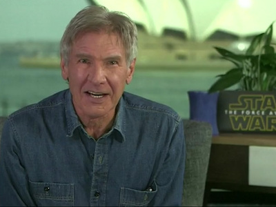 Harrison Ford -- Get a Clue Donald Trump ... I Didn't Fight Real Terrorists! (VIDEO)