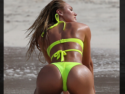 Candice Swanepoel -- In Your Face, Darwin!! (PHOTOS)
