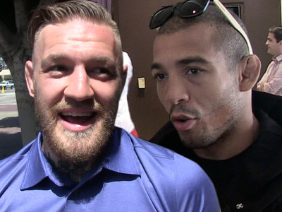 Conor McGregor -- Irish Consulate Trolls Jose Aldo