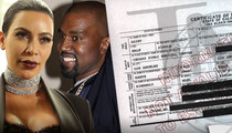 Saint West Gets His Papers