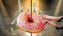 Spearmint Rhino Strip Club Sues -- Your Doughnuts Are Screwing Our Strippers