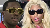 Meek Mill -- Nicki Minaj & Friends Show Support ... Judge Ain't Buyin' It