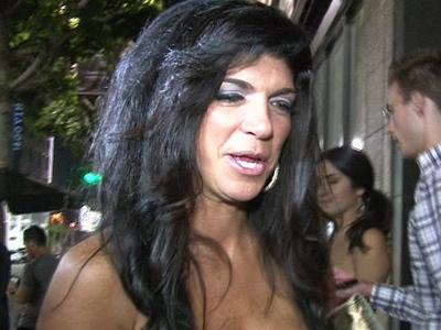 Teresa Giudice -- Released from Prison ... Film Me