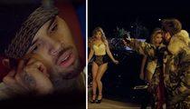Scott Disick -- Hey Chris Brown ... I Need Help Banging These Chicks (VIDEO)
