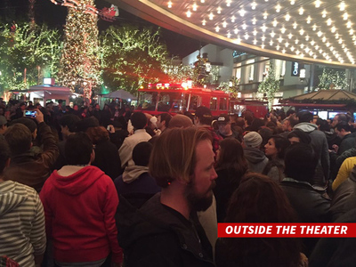 'Star Wars' -- L.A. Theater Evacuated ... But False Alarm