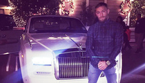 Conor McGregor -- SPOILS OF VICTORY ... Rolls-Royce and Mariah