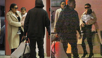 Kim Kardashian & Kanye West -- First Public Shot of Saint West ... Time for a Checkup