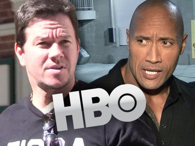 Mark Wahlberg & The Rock -- Sued for Stealing 'Ballers'