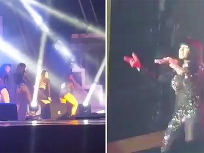 Nicki Minaj -- Angola Show Goes On ... Forget The Protestors