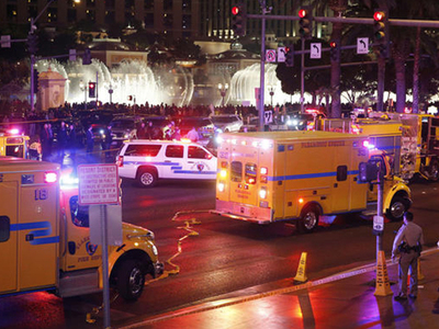 Las Vegas -- Carnage On Vegas Strip ... Car Plows Into 37 People