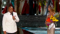 Steve Harvey -- BOTCHES MISS UNIVERSE ... Announces Wrong Winner!