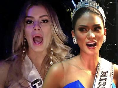 Miss Universe -- Latina Contestants Unite ... Screw Miss Philippines!!!