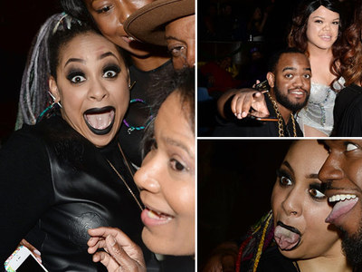 Raven-Symone -- Kim & Kanye Sorta Came To My 30th (PHOTOS)