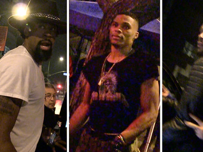 Clippers' DeAndre Jordan -- Partying with Thunder ... After Devastating Loss
