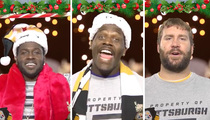 Pittsburgh Steelers -- Worst Xmas Carolers Ever? Maybe.