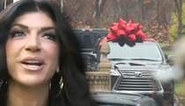 Teresa Giudice -- $90k Welcome Home Car ... Broke, Reallly?
