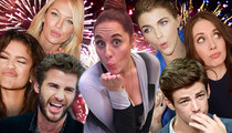 TMZ Staff Picks -- Which Celeb Do You Wanna Kiss On NYE?