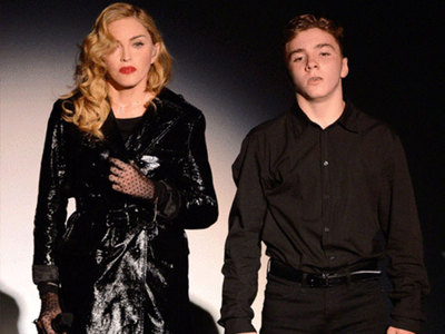 Madonna -- Rocco Flees for Ritchie ... Raging International Custody War