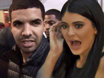 Drake and Kylie -- Unwanted Visitors Invade Property