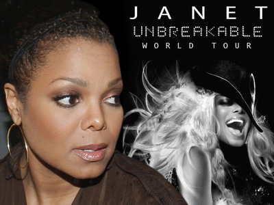Janet Jackson Unbreakable Tour On Hold -- Singer Needs Surgery