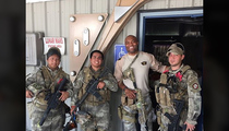 Anderson Silva -- The Family That Paintballs Together Stays Together