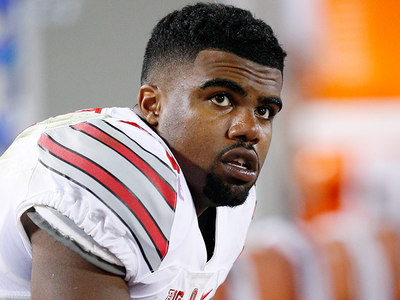 OSU Star RB Ezekiel Elliott -- Cited in Car Crash