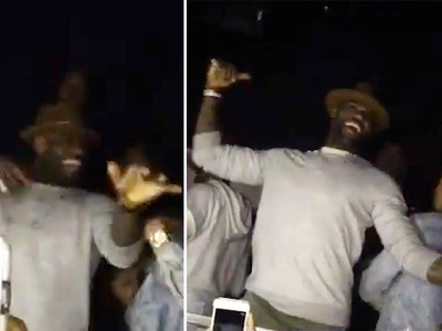 LeBron James -- Hittin' Them Folks ... With Cavs Teammates (VIDEO)