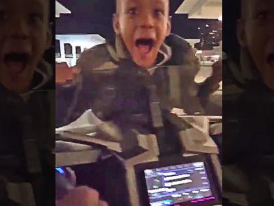 Gilbert Arenas' Son -- Boys On the Hood (VIDEO)