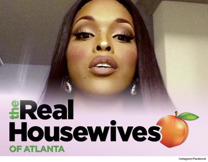 "Amiyah Scott might be telling people she walked off the set of ""The Real Housewives of Atlanta,"" but producers are singing a different tune ... she was just ..."