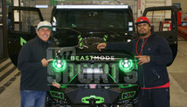 Marshawn Lynch -- I'm Swaggin Out My Jeep ... For Charity