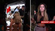 Chris Brown Accuser -- No Stranger To Celeb Beef ... Railed On Jason Derulo