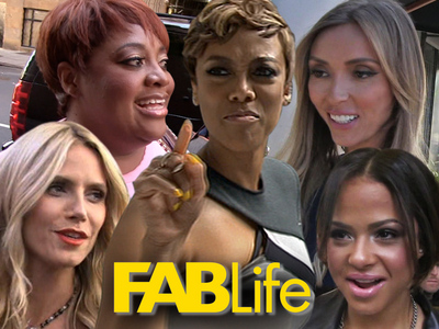'FABLife' -- Supermodels, Reality Stars, News Vets In The Running To Replace Tyra