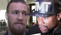 Conor McGregor -- Don't Ever Play Race Card with Me, Floyd Mayweather ... I'm in Charge Now!