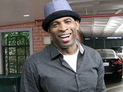 Deion Sanders -- My Face Is Still Prime Time ... For My Son's Clothing Line