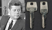 President John F. Kennedy -- Assassination Limo Keys Up For Sale