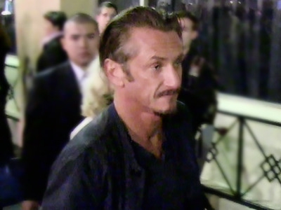 Sean Penn -- Loud and Proud at Polo Lounge