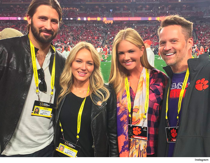 singers dating football players Maybe you saw sam hunt sprinting down the football field in birmingham what country singers have influenced you the most through the early portion of your.