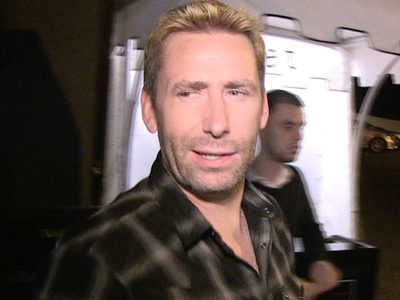 Nickelback Sues Lloyd's of London -- They Gotta Pay For Chad's Cyst