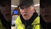 Justin Bieber -- Gives Airport Worker His Big Break (VIDEO)