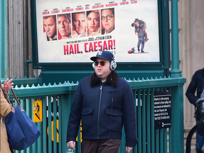 Jonah Hill -- This Guy's Following Me Everywhere! (PHOTO)
