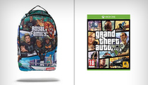 Odell Beckham Jr. -- Designs GRAND THEFT AUTO Inspired Backpack (PHOTO)