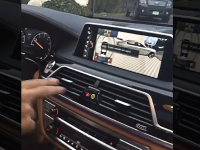 French Montana -- Here's A New BMW, Lil Bro!