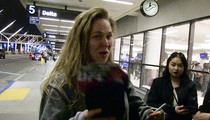 Ronda Rousey -- I Want to Hang with Jennifer Lawrence! (VIDEO)