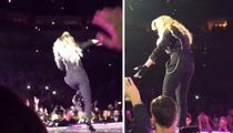 Madonna Concert Goers -- She was Trash Talkin' and a Lil' Trashed