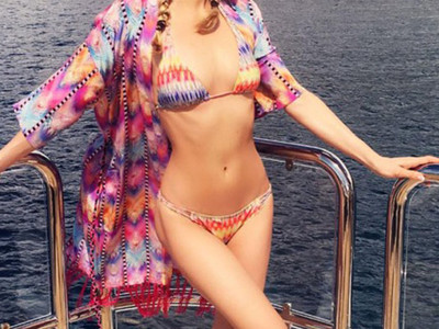 Guess Whose Bikini Bod -- See the Sexy Star