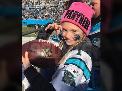 Carolina Panthers Girl -- I'LL NEVER SELL THIS FOOTBALL!!!