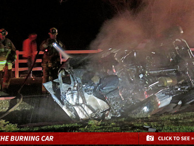 Jamie Foxx -- Pulls Driver from Flaming Wreck (PHOTOS)