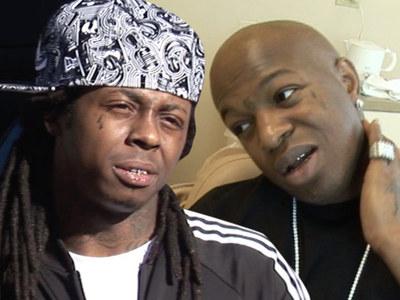 Lil Wayne & Birdman -- Tight Again, But Biz is Biz ... Lawsuit Still On!!