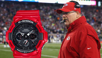Casio to Andy Reid -- We Can Help with Clock Management!