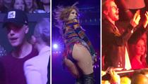 Jennifer Lopez -- Packs in Celebs for Vegas Opener (VIDEO)